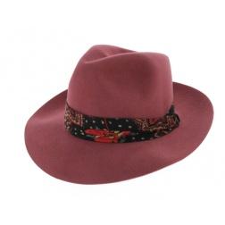 chapeau-feutre-poil-rose