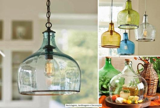 luminárias de garrafas arquitrecos via spotlux