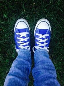converse bleues