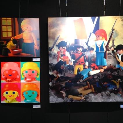 Playmobil tableaux