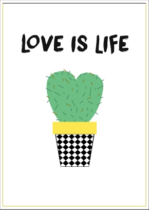 Affiche Cactus