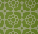 Papier peint vintage vert