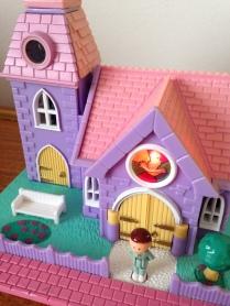 Polly Pocket église lumineuse