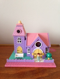 Polly Pocket chapelle lumineuse