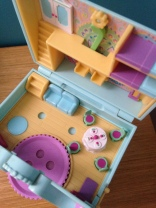 Polly pocket horloge mint