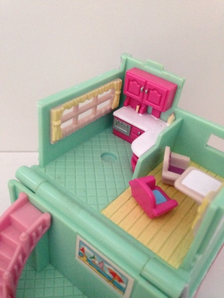 Polly Pocket maison plage