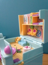 Polly pocket pendule vintage