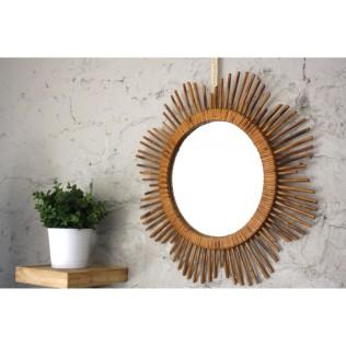 miroir-rotin-fleur