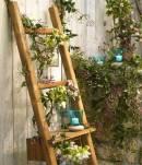 Echelle bois jardin