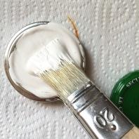 Peindre bouchon de bouteille
