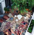 Terrasse tapis