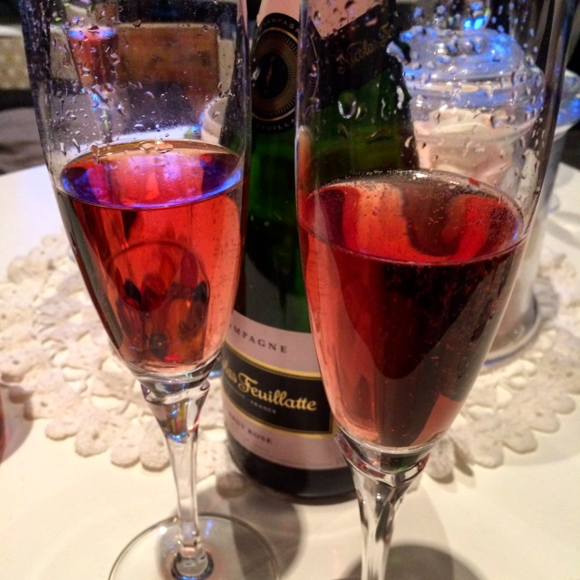 champagne-rose