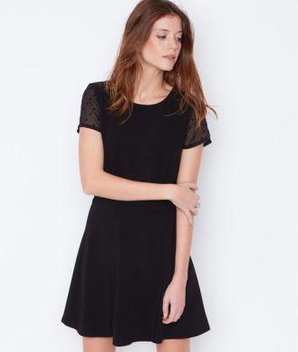 robe-noire-plumetis