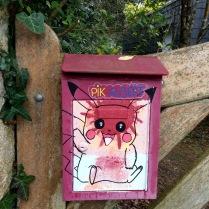 boite à lettres Pikachu