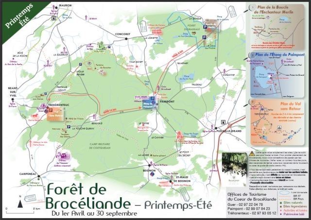 Carte Brocéliande